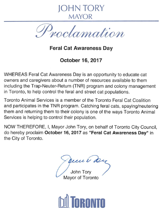 FCAD proclamation