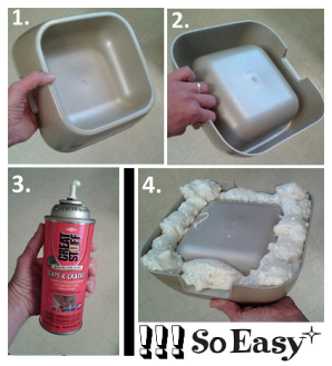 Insulated water bowl - website